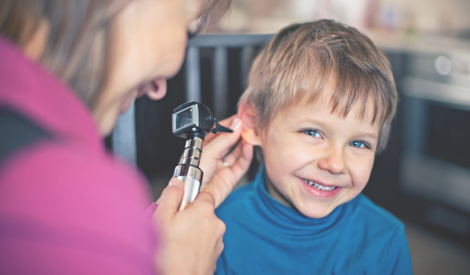 Pediatric hearing aid screening
